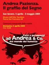 Andrea Pazienza  -  il graffio del Segno