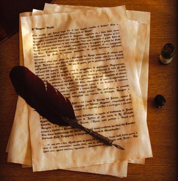 scrivo...